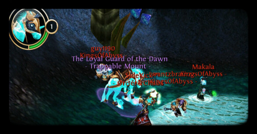 Rare Epic Ghost Mount in the Under Realm. I cast 7 bond stones on this one before it was caught, not by me :(.