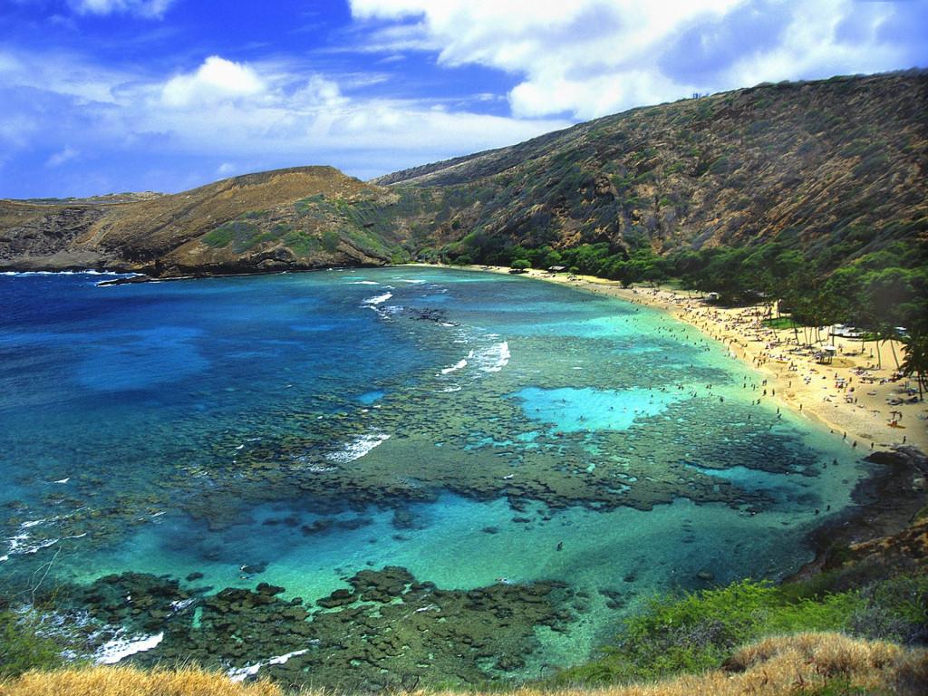 The beauty of snorkeling at hanauma bay oahu hawaii for Fishing spots oahu