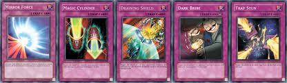 Yugioh Traps can make or break a duel.