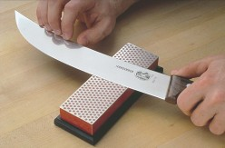 How to sharpen your kitchen knives.