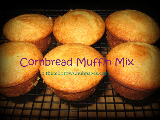 Sweet and yummy.  Homemade cornbread muffins are perfect with a bowl of chili!