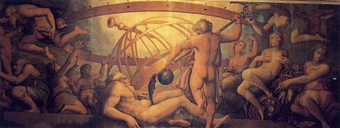 The Castration of Uranus by Kronos