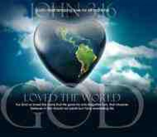 God So Loved the World.