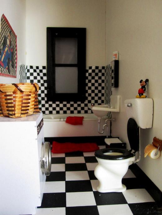 Modern Miniature Bathroom