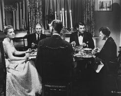 Old fashioned dinner parties were as stuffy as the modern day dinner parties
