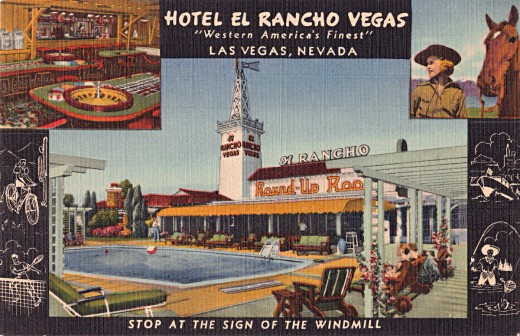 Linen postcard from the '40s.