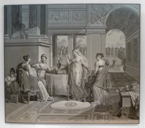 Psyche Entertains Her Sisters