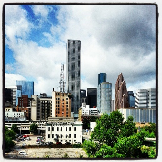 My Photography of Downtown Houston. There are countless opportunities here.  Houston has a very sales friendly environment.