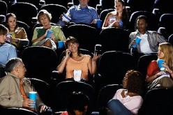 One self-serving teen causing those around her to have a rotten time at the movies