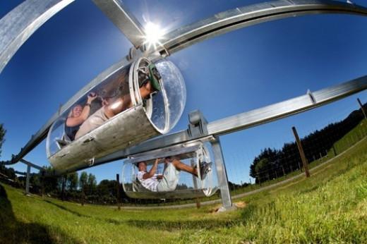 Shweeb Human Powered Monorail