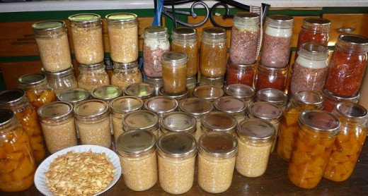 Canning is one way to preserve food for future consumption.