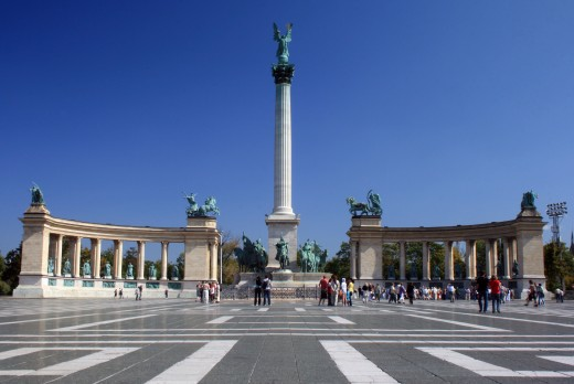 The Heroes' Square (Hősök tere)