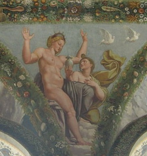 Psyche Returns Styx Water to Aphrodite