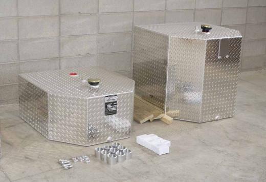 More aluminum fuel tanks.