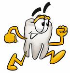 Tooth running
