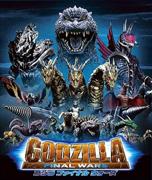 Godzilla Final Wars Movie Poster