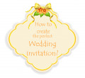 Wedding invitations – tips on how to create your perfect invitation - Part II.