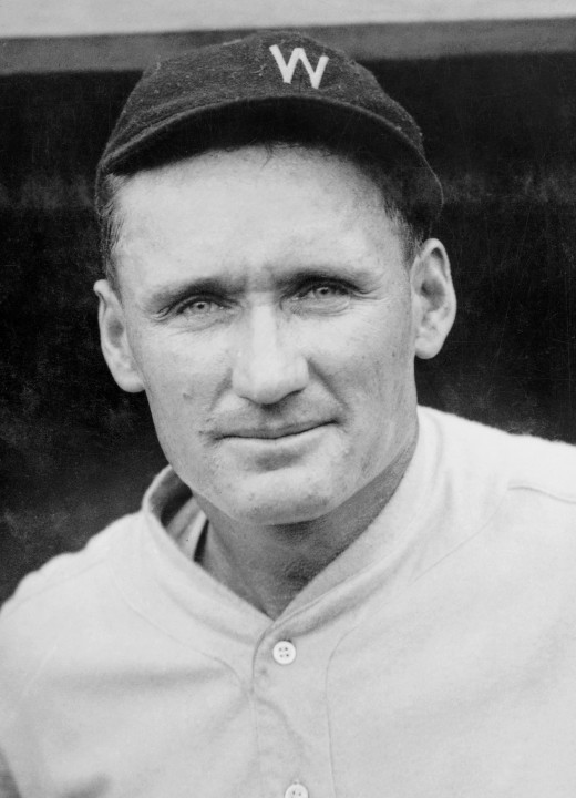 Walter Johnson, the winningest pitcher in American League history, picked up No. 385 in this game.