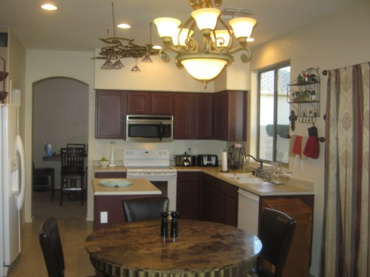 After! A New And Improved Kitchen Under $1,000 A Grand Total Of $700.00