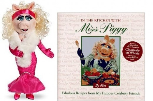Miss. Piggy's Cook Book Plus Plush Doll, Sold separately on Amazon.com
