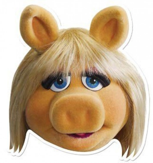 Miss Piggy Head
