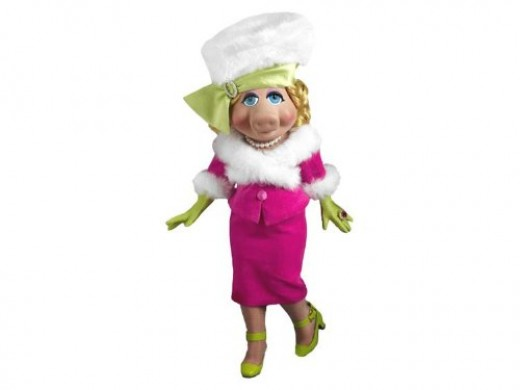Plush Miss Piggy