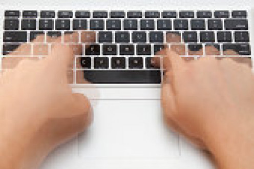 Let your fingers do the walking to your keyboard.