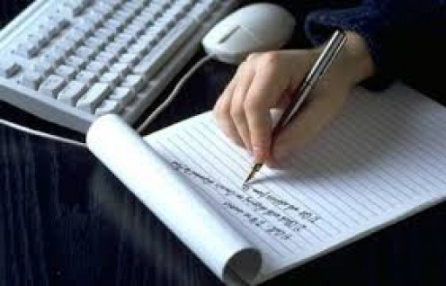 Write  in a journal.