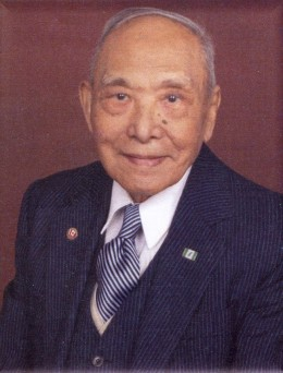 Notice Elder Huang wears two Canadian lapel pins with Canadian flag and Maple leaf.