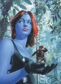 Marvel comics shape shifter Mystique