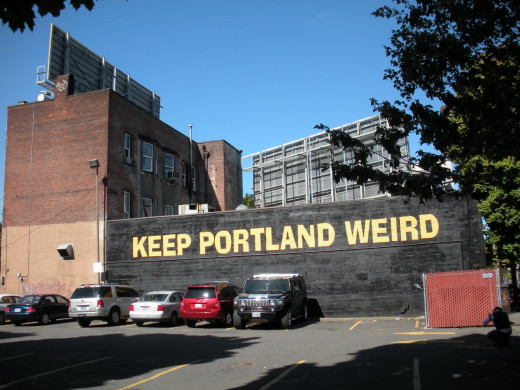 Weird Sign in Portland
