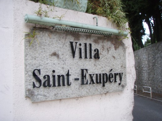 The entrance to the Villa Saint-Exupery Hostel