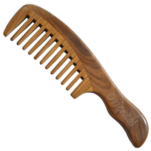 Wide Tooth Comb.