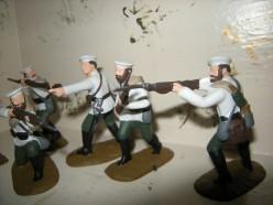 Russian Infantry Boxer Rebellion 1900