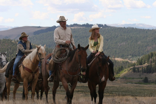 Hard-Working Ranchers