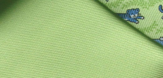 Check the bias of the twill (back)