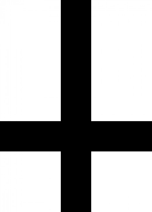 often thought to be a Satanic Cross the upside down cross is actually the Cross of Saint Peter, who believed he was unworthy to be crucified in the same way Jesus was and requested to be crucified upside down.