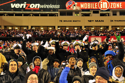 Buffalo Bills fans try to stay hopeful despite a long playoff drought.