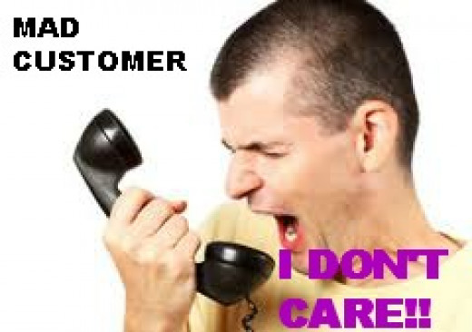 Common pet peeves by customers