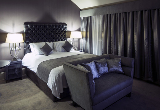 Sophisticated, luxurious and glamorous interiors at this hotel in Ireland's co Fermanagh.