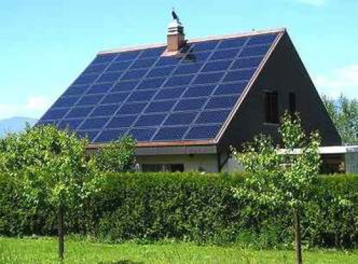 solar panels:  clean, safe and renewable energy