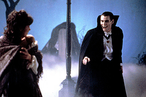 Jim Carey is a vampire.