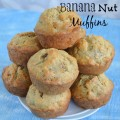 Oatmeal Banana Nut Muffins Recipe