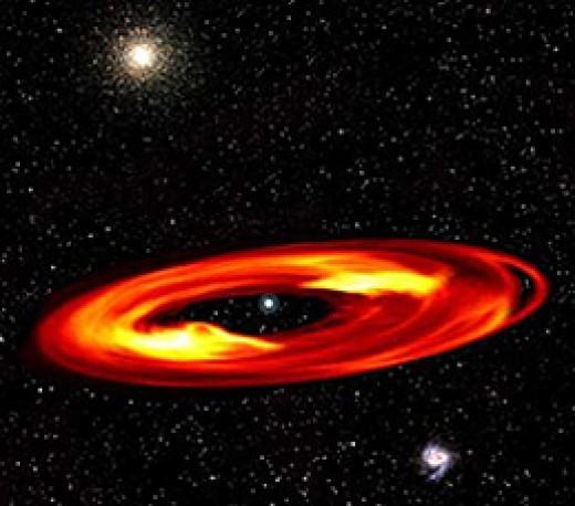 Rings of Vega (artist's rendition)