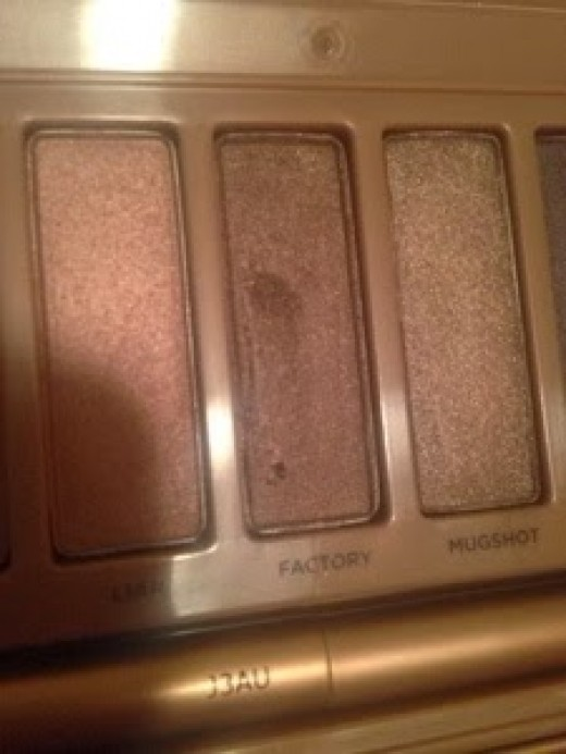 Second half of the palette