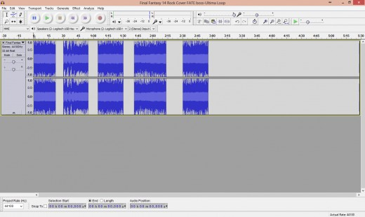 It's like I went full on Hannibal on the poor thing... Damned waveform didn't know what hit 'im...