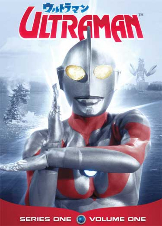 Ultraman DVD Cover