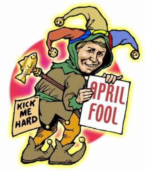 "April ""fool"""
