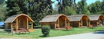 A sample of KOA cabin