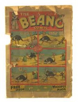 Avoid comic books like this one. Their condition is way to bad for collecting.